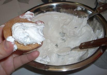 alfajores chocolate y merengue