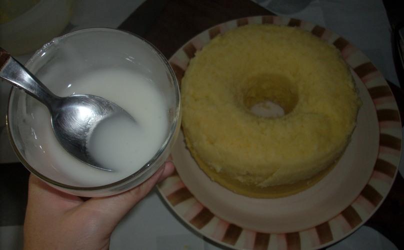 Torta de micro - glacé