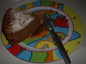 porción torta