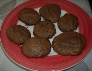 galletitas de chocolate