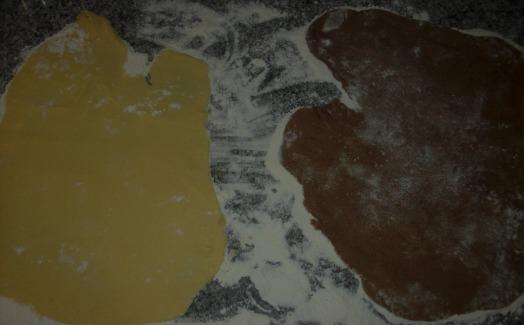 galletitas de heladera en espiral