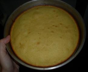 torta amarilla yellow cake