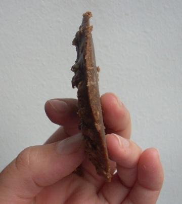 Galletitas de chocolate hervidas