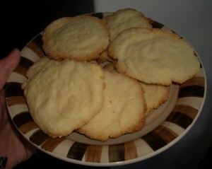 galletitas azucaradas