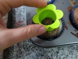 Cupcakes mixtos y rellenos