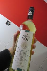 Risotto al azafrán - vino blanco