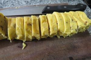 Galletitas de harina de maíz y pasas