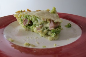 pastel de broccoli