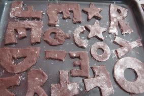 galletitas chocolate con forma