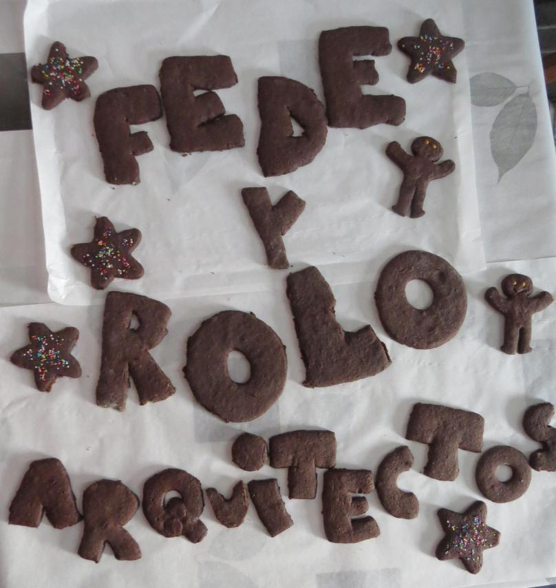galletitas chocolate con forma