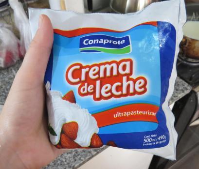 helado dulce de leche