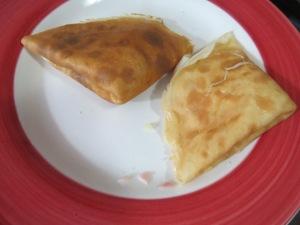 crepes de jamón y queso