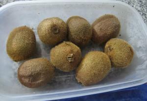 cupcakes de kiwi