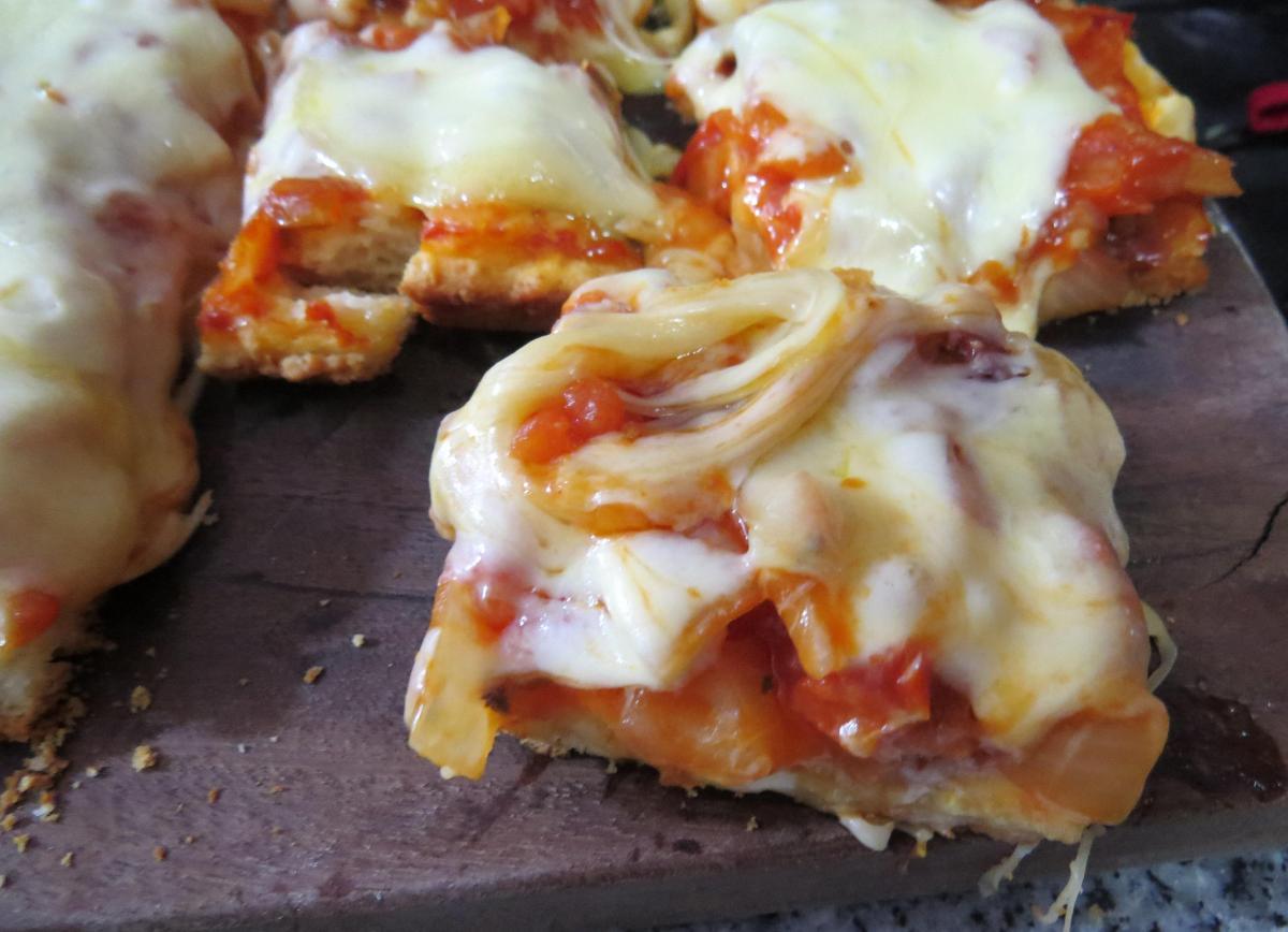 Pizza (con polvo de hornear)
