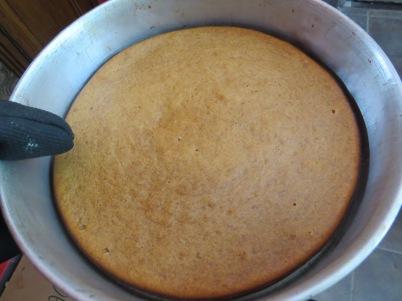 torta banana dulce de leche
