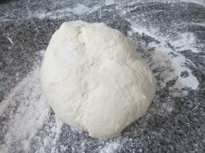 pizza con levadura