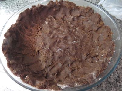 tarta chocolate y ricotta