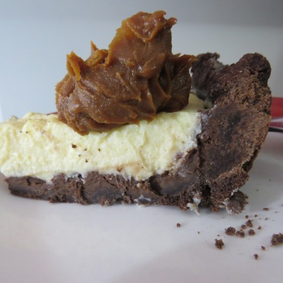 tarta ricotta y chocolate