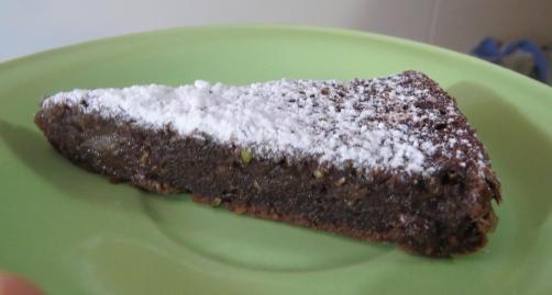 torta chocolate zucchini