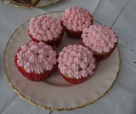 cupcakes rosados