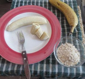 galletitas avena y banana
