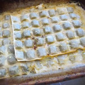 ravioles al horno