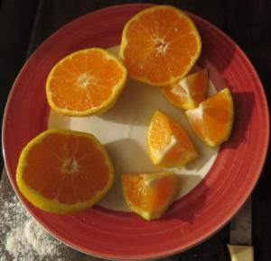 torta mandarina y cacao 2