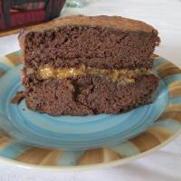 Torta de chocolate y porotos, sin harina