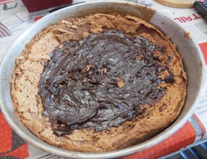 torta chocolate almendras 8