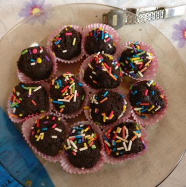 brownies sin azúcar 6