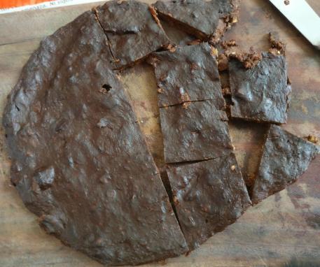 cuadrados banana cacao 5