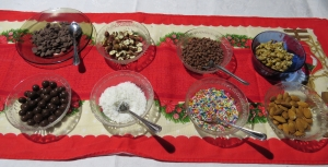 toppings helado