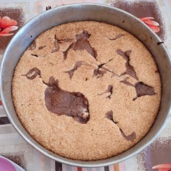 torta harina maní
