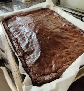 brownies aceite