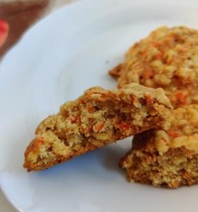 galletitas zanahoria y avena