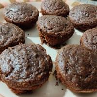 Muffins de harina de coco