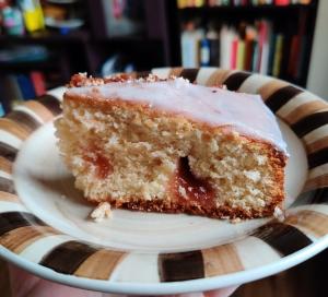 torta de mermelada